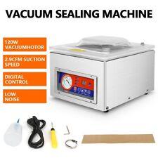Commercial Vacuum Packing Sealing Machine Digital Sealer Food Chamber 120w 110v