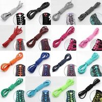 Shoelaces Elastic Round Shoe Laces Trendy Sneakers Quick Locking Shoestrings HOT