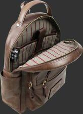 Rawlings Genuine BROWN Leather Medium Backpack RS10057 NEW  NWT