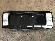 2004 - 2009 CADILLAC SRX TAILGATE LICENSE PLATE TRIM WITH REVERSE LIGHTS