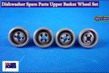 Dishwasher Spare Parts  Upper Basket Wheels Suits Many Brand  Grey 4pc/set  C309