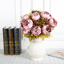 Artificial Flower Silk Peony Bouquets Hotel Home Wedding Party Decoration