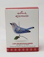 HALLMARK 2017 LADY MOUNTAIN BLUEBIRD BEAUTY OF BIRDS LIMITED EDITION NIB MIB