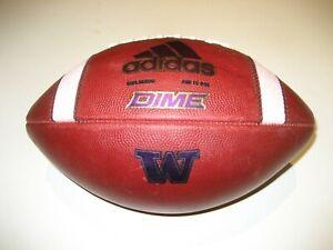 2020 Washington Huskies TEAM ISSUE Adidas Dime Football - UW University