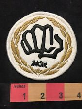 Martial Arts Fist Patch C89D