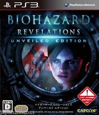 Used PS3 Biohazard Revelations  SONY PLAYSTATION 3 JAPAN JAPANESE IMPORT