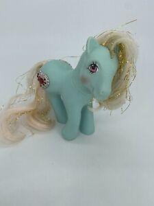 PRINCESS AQUAMARINE, G1 My Little Pony, Hasbro 1984, mlp, 1980s, baby