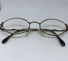 6d831f2a159 Vintage FENDI LOGO WOMAN OR MEN EYEGLASSES EYEWEAR Copper Tint Frame Glasses