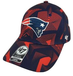 New England Patriots hat cap nwt new stretch fit OSFA NFL '47 brand solo