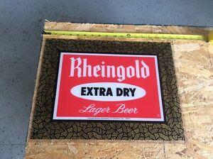 Vintage Rheingold Beer Sign