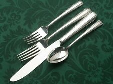 Candlelight by Towle Sterling Silver 4 Piece Place Setting, modern blade knife