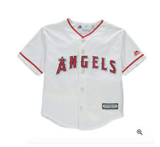 Los Angeles Angels Toddler Majestic Officially Licensed Jersey - White