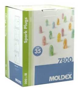 400 Moldex Spark 7800 Ear Plugs (200 Pairs)