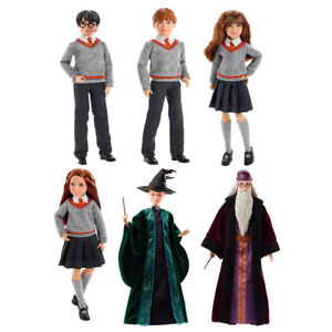 Harry Potter Action Figure with Wand from Hermione Granger, Ginny Weasley Age 6+