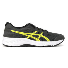 ASICS Kids Contend 6 GS Graphite Grey/Safety Yellow Running shoes 1014A086.02...