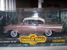 Chevy 1957 1/18 diecast  hardtop  very rare   limited edition- brand new