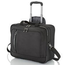 travelite CrossLITE schwarz Businesswheeler Pilotenkoffer Business Reisekoffer