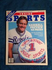 GEORGE BRETT Signed Autographed BASEBALL Magazine Inside Sports April 30, 1981