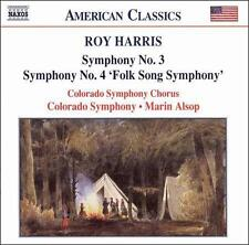 Roy Harris: Symphony No. 3; Symphony No. 4 'Folk Song Symphony' (CD Near Mint