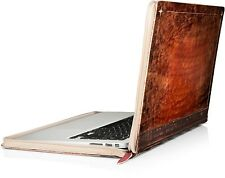 Twelve South Rutledge BookBook for MacBook | Artisan leather book case for 13...