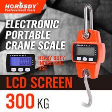 Portable Industrial Mini Digital LCD Crane Scale HEAVY 300kg Electronic Hook