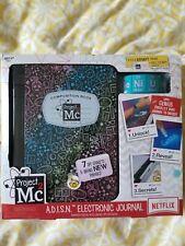 Project Mc2 A.D.I.S.N. Super Smart Girls Electronic Journal Notebook Spy Skills