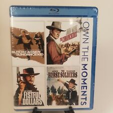 Butch Cassidy and Sundance Kid, Fistful of Dollars, Comancheros, Horse Soldiers