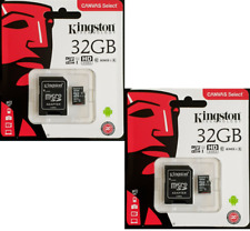 x2 Kingston 32GB Micro SD SDHC Class 10 Card for Nextbase Dash Cam 80MB/s