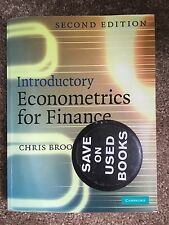 Introductory Econometrics for Finance 2nd Edition by Chris Brooks