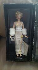 Franklin Mint Marilyn Monroe Millennium RARE Vinyl Doll.