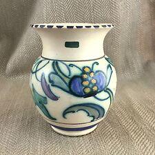 Vintage Art Deco Vase Hand Painted Honiton Pottery Pot
