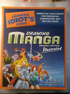 NEW The Complete Idiot's Guide To Drawing Manga Second Edition Illustrated