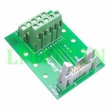 Idc10 male plug 10pin port header Terminal Breakout Pcb Board block 2 row screw