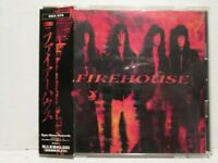 Firehouse - S/T 1991 Japan Edition w/OBI Rare OOP HTF