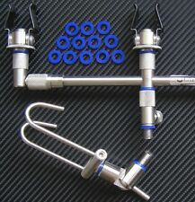 CARP Fishing Tackle BLU IN SILICONE O-RING X36 Fit Rod Pod Snag Bar 7&12mmØ bbs36