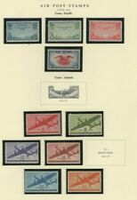 USA 1935-1976 MNH LOT / COLLECTION OF (56) AIRMAIL STAMPS