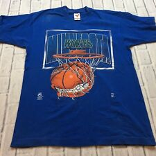 90s VTG MINNESOTA TIMBERWOLVES Big Logo T Shirt NBA og Old School L Made USA