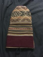Native Tribal Design Oven Mitt Brown