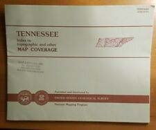 New ListingUsgs State Index for Topographic Maps Tennessee - 1993 -