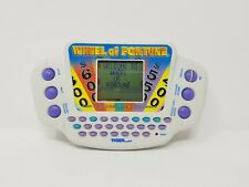 Wheel Of Fortune Handheld Electronic Game Tiger Electronics 2005 Hasbro Work