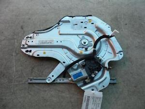HYUNDAI ELANTRA LEFT REAR WINDOW REGULATOR /MOTOR XD SII, POWER, 10/03-07/06