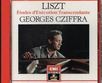 Liszt : Studi D'Ausführung Trascendemtale/Georges Cziffra - CD
