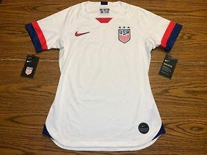 NWT Women's Nike Dri-Fit USA Breathe Stadium Jersey Home Size XS AJ4398-100