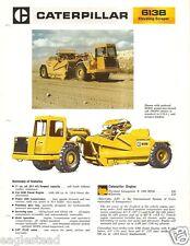 Equipment Brochure - Caterpillar - 613B - Elevating Scraper - c1979 (E2032)