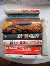 Lotto 10 Romanzi italiano GORKY PARK GRISHAM il socio SHOGUN