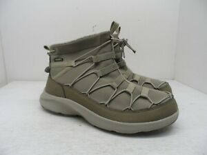 KEEN Men's Uneek Sneaker Chukka Timberwolf/Plaza Taupe Size 9M