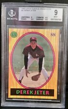 1992 Little Sun High School Prospects Derek Jeter ROOKIE BGS 9