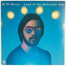AL DI MEOLA: Land of the Midnight Sun USA Orig Jazz '76 Fusion LP