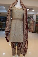 asian bridal dress size small for wedding or partywear