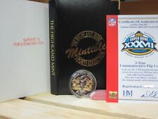 THE OFFICIAL SUPER BOWL 37 GAME COIN--1 OZ SILVER--TAMPA BAY BUCCANEERS--RAIDERS